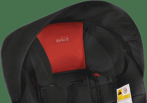 AXKID Slnečná strieška pre autosedačky KidZone / KidZofix Black