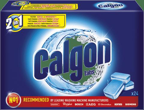 CALGON Tabs 24 ks – tablety na praní
