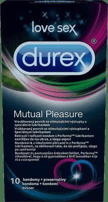 DUREX Mutual Pleasure 10 sztuk - prezerwatywy