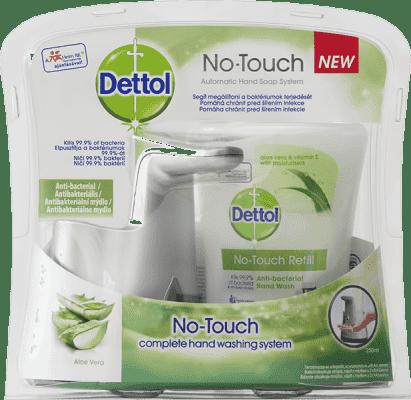 DETTOL Bezdotykový dávkovač mýdla - Aloe Vera (250 ml)