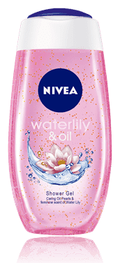 NIVEA Sprchový gel Water Lily Oil (250ml)