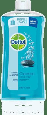 DETTOL Náplň do tekutého antibakteriálního mýdla – Cleanse (500 ml)
