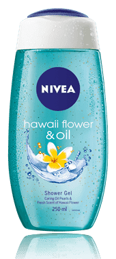 NIVEA Sprchový gel Hawaiian Flower & Oil (250 ml)