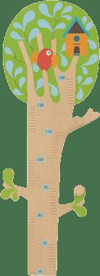 BOIKIDO Drzewo 2w1 miarka wzrostu + wieszak