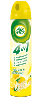 AIRWICK Spray 4in1 Citrón&Ženšen 240 ml