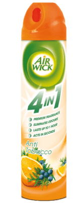 AIRWICK Spray 4in1 Anti-Tabacco 240 ml