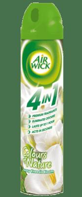 AIRWICK Spray 4in1 Biele kvety frezie 240 ml