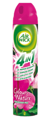 AIRWICK Spray 4in1 Ružové kvety stredomoria 240 ml