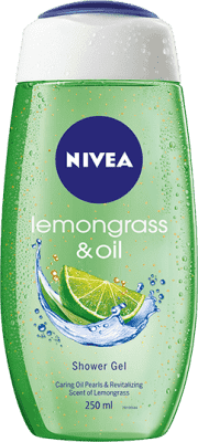 NIVEA Lemongrass & Oil sprchový gél 250 ml