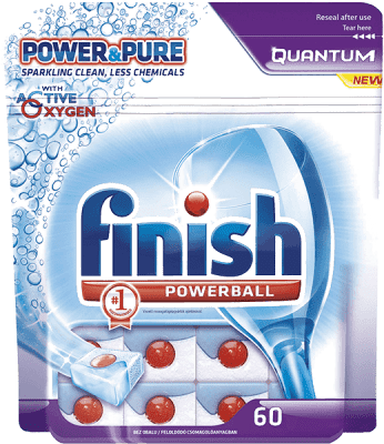 FINISH PB Tabs Quantum Power&Pure 60 ks