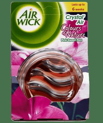 AIRWICK Crystal Air Odświeżacz różowe kiwaty 240 ml