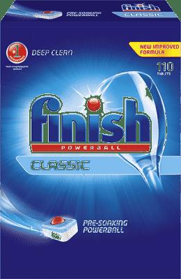 FINISH Calgonit 110Szt Powerball Classic niemieckie tabletki do zmywarek