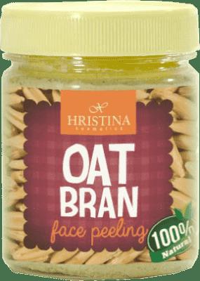 HRISTINA Naturalny peeling z otrąb owsianych, 200 ml