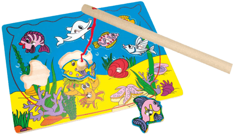 BINO Puzzle - magnetické aquarium 11 ks