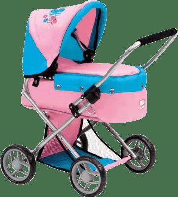 BINO Dětský kočárek – menší s motýlky