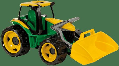 LENA Traktor s lyžicou, zeleno-žltý