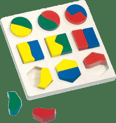 BINO Puzzle - geometrické tvary 21 ks