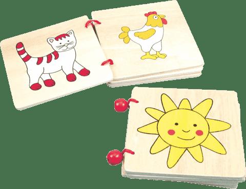 BINO Obrázková knížka - 4 strany