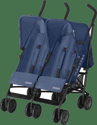 KOELSTRA Wózek spacerowy dla bliźniąt Simba Twin T4 – Marine Blue