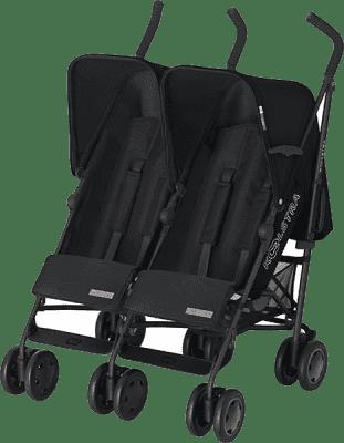 KOELSTRA Wózek spacerowy dla bliźniąt Simba Twin T4 – Black