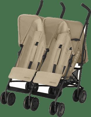 KOELSTRA Wózek spacerowy dla bliźniąt Simba Twin T4 – Sand