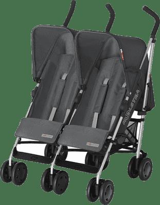 KOELSTRA Dvojčatový golfový kočárek Simba Twin T4 – Grey