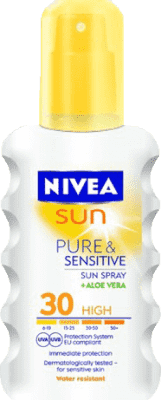 NIVEA SUN Spray do Opalania Sensitive OF30 200 ml