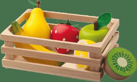 WOODY Přepravka s ovocem