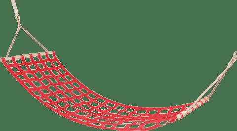 WOODY Hamak – czerwony