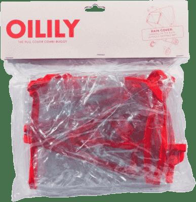 OILILY Pláštenka na športový kočík, Red