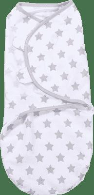 SUMMER INFANT SwaddleMe Zavinovačka L, hvězdy šedé