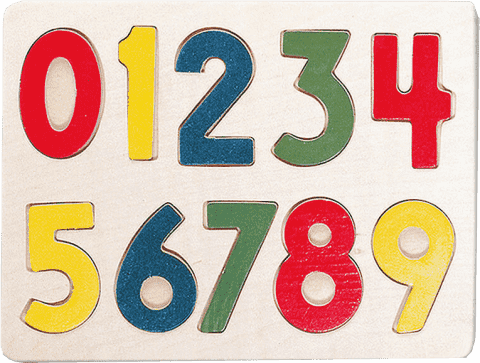 BINO Puzzle - číslice
