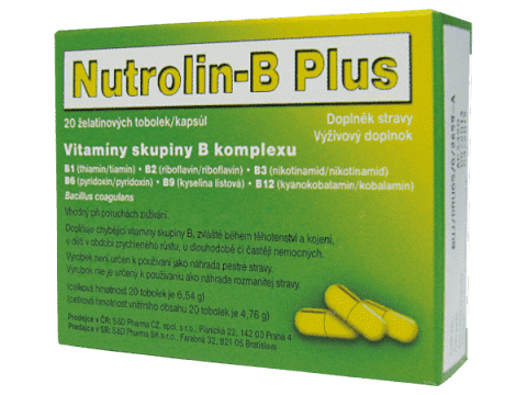NUTROLIN B Plus 20 ks