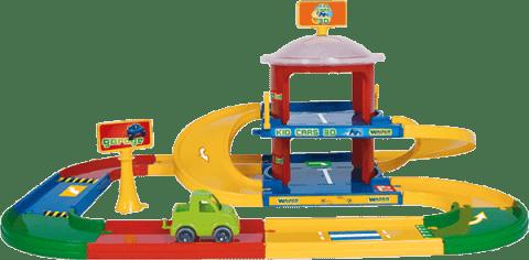 WADER Kid Cars 3d garaż 2 poziomy trasa 3,4 m