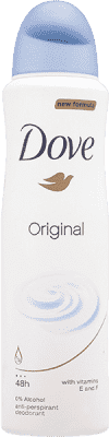 DOVE deo spray Original 150ml (antiperspirant)