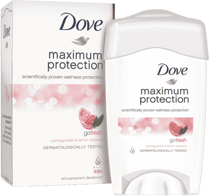 DOVE deo stick Maximum Protection Granatátové jablko 45ml (antiperspirant)