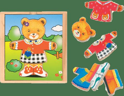 WOODY Puzzle šatníková skriňa