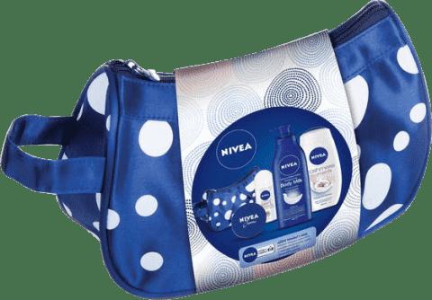 NIVEA Zestaw w praktycznej kosmetyczce MILK