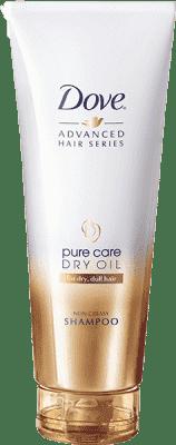 DOVE šampón Pure Care Dry Oil 250ml