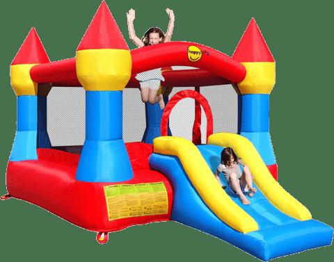 BELATRIX Zamek ze zjeżdżalnią i trampoliną