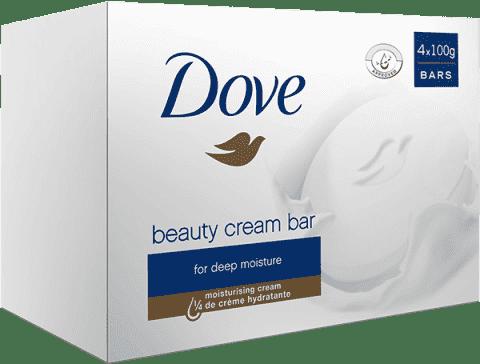 DOVE Original Original mydło w kostce 4x100 g