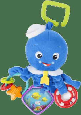 DISNEY BABY Chobotnička na C-kroužku aktivní Octopus™ 0 m+
