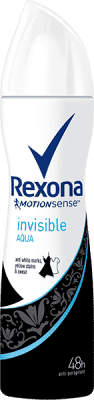 REXONA deo spray Invisible Aqua 150 ml (antiperspirant)