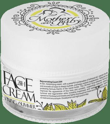 HRISTINA Přírodní krém na obličej 24h jaro-léto pro maminky, 50 ml