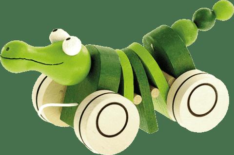 BINO Tahací krokodýl