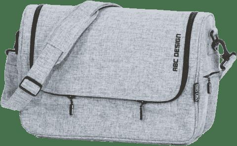 ABC DESIGN Taška na plienky Classic - graphite grey