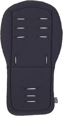 ABC DESIGN Vložka do kočárku – black