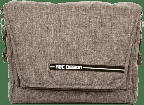 ABC DESIGN Prebaľovacia taška s podložkou Fashion - Maron 2017
