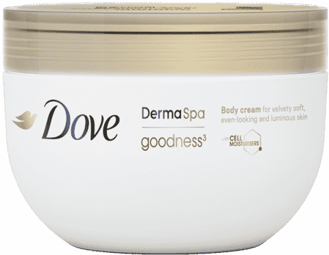 DOVE Dermal Spa telový krém Goodness 300ml