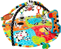 BRIGHT STARTS Deka na hraní Spots&Stripes Safari™ 0 m+